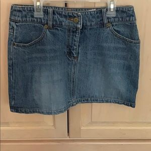 H&M Jean Mini Skirt